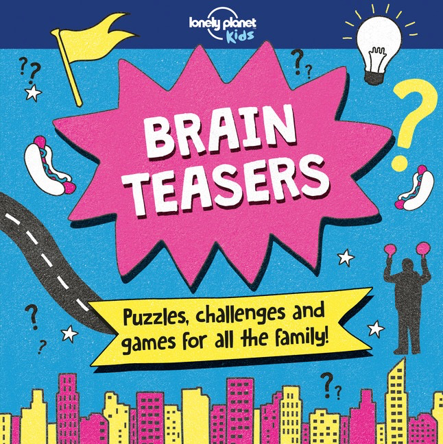 Brain Teasers Lonely Planet Kids Road Trip Books Tweens
