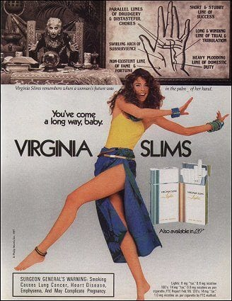 1978 Virginia Slims Ad