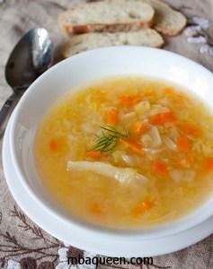 Капустный суп с томатной пастой