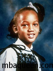 Топ-модель Тайра Бэнкс в детстве