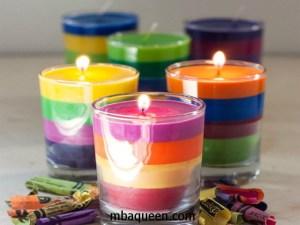 Узнайте, как сделать ароматизированную свечу