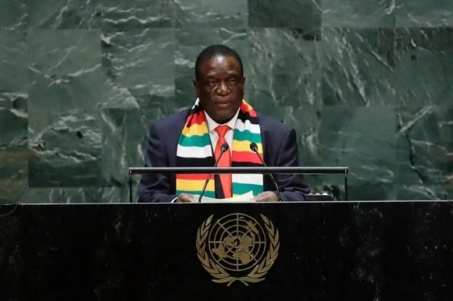 Mnangagwa UN address