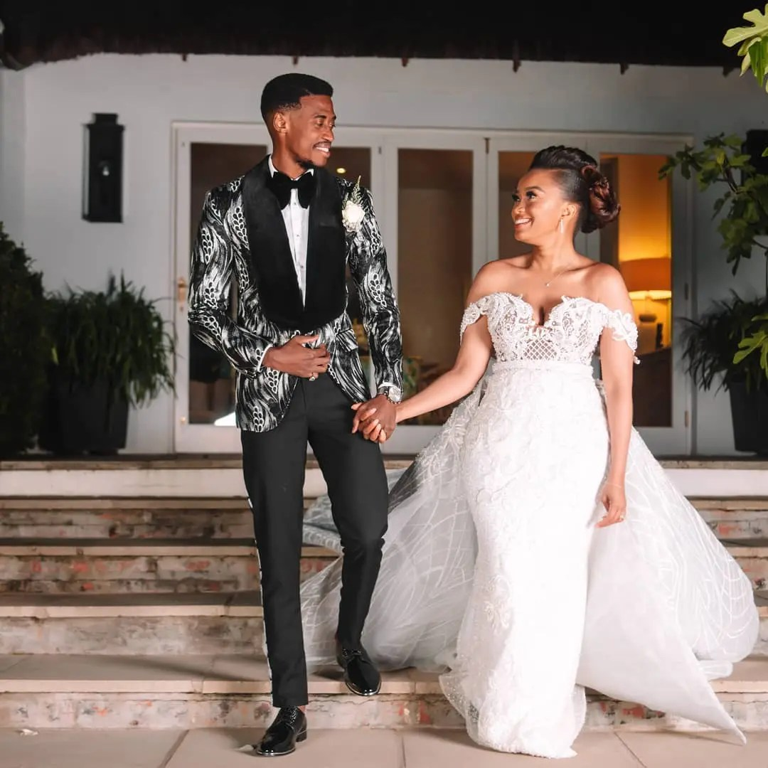 Check Out Mzansi's Top Celebs Weddings – Pictures
