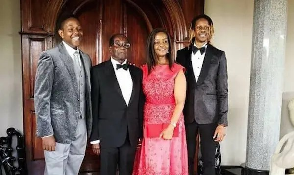 Mugabe and sons