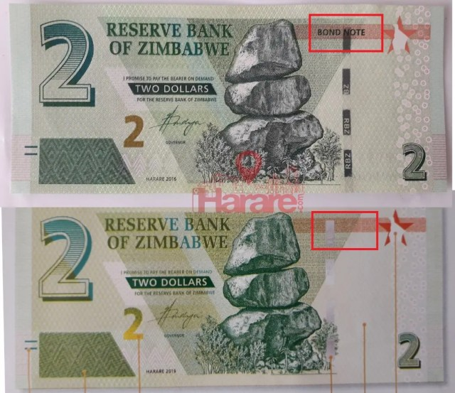 New-Currency Bond notes
