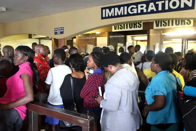 Beitbridge border post
