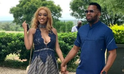 Itumeleng Khune & his wife, Sphelele Makhunga