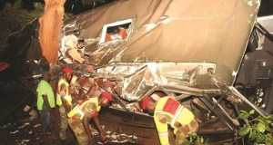 Army bus accident