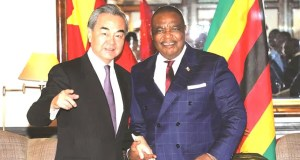 Chiwenga with Chinese Foreign Affairs Minister Mr Wang Yi