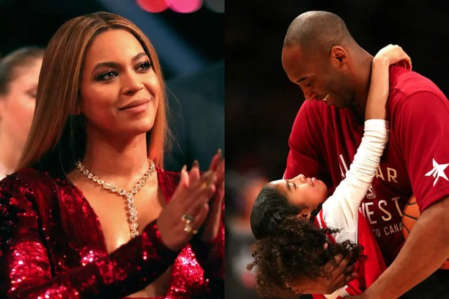 Beyonce's emotional tribute to Kobe and Gigi Bryant