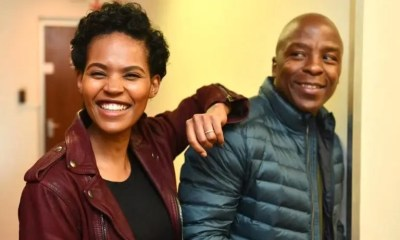 Gail and Kabelo Moabalane