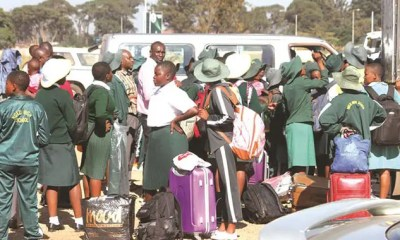 Ngezi High school pupils