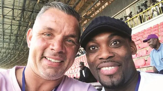 Mark Fish and Micheal Essien