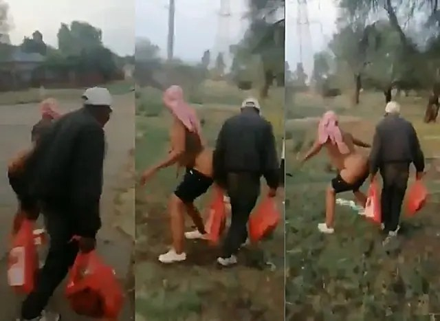 Woman-s.e.xually-abuses-old-man-bends-over-him-while-n@ked