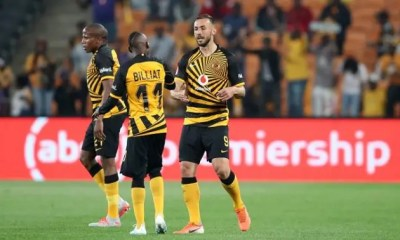 Samir Nurkovic and Khama Billiat