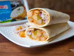 Spicy potato wraps - Recipe