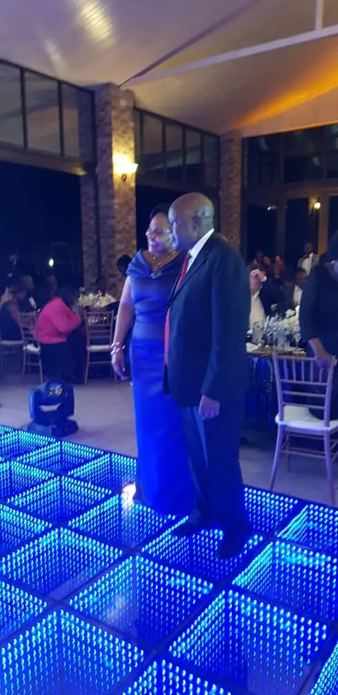 Mutsvangwa and Wife