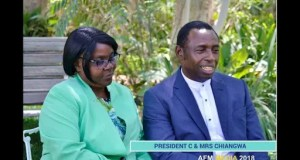 Cossam Chiangwa and wife