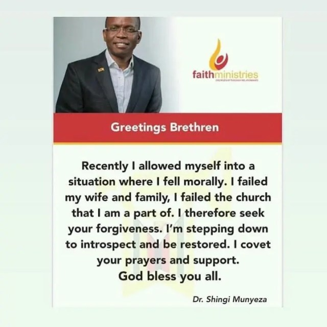 Shingi Munyeza confession