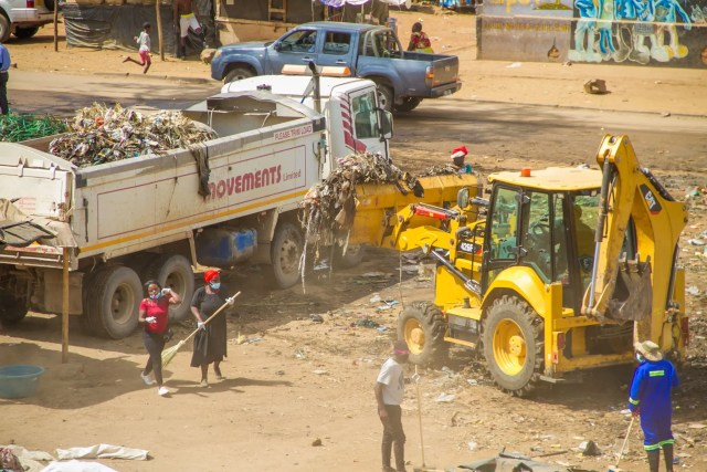 Mbare Clean up campaign