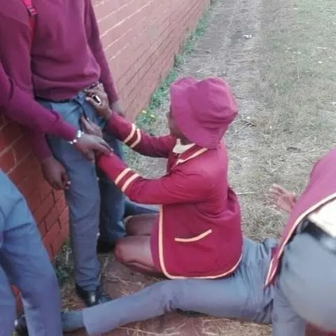 High School students strike again: Sexual pictures of pupils having fun at school