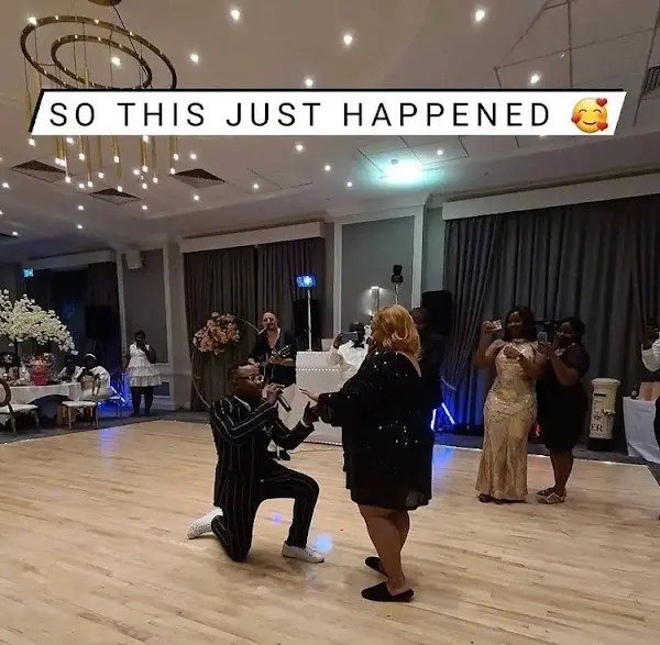 Tytan proposes to baby mama Olinda chapel for the second time: Pics and Vid