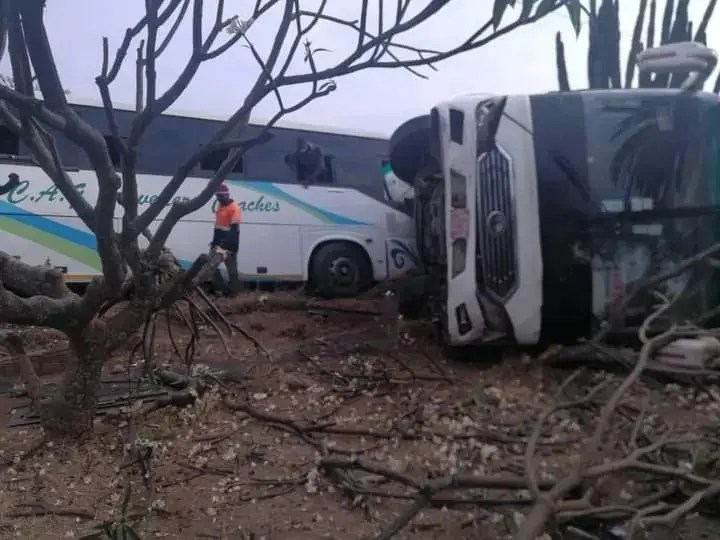 CAG buss accident