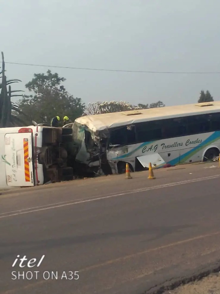 CAG bust accident
