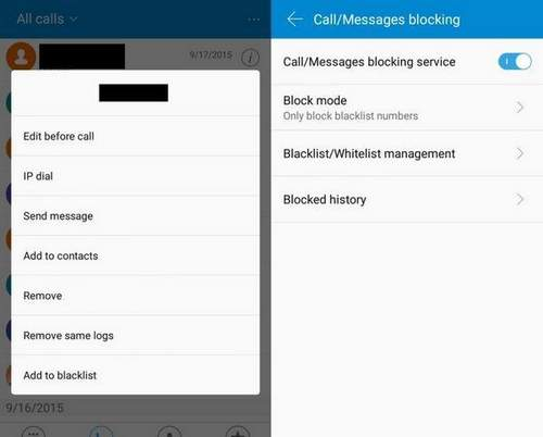 How To Add A Contact To The Blacklist On Android