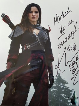 Katrina Law's autograph.