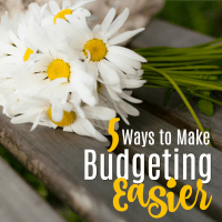 5 Ways to Make Budgeting Easier