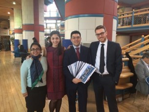 My Cambridge Venture Project group on the day of the final presentation