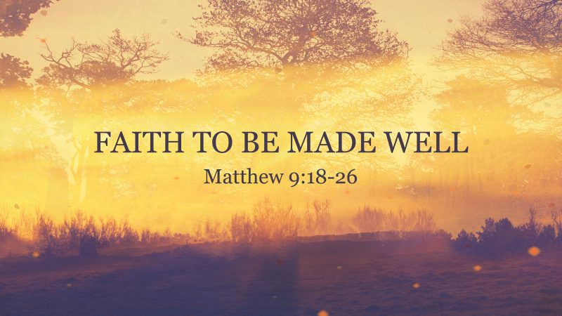 Image result for free photo of Matthew 9:18-26