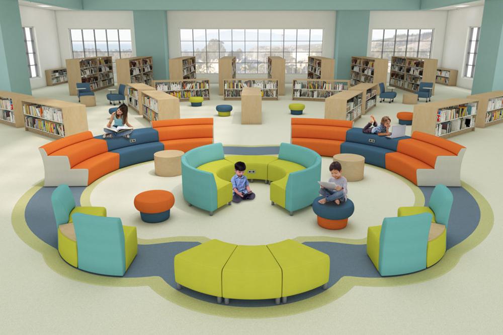 Bright children furniture