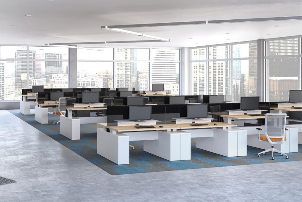 Floor of furniture