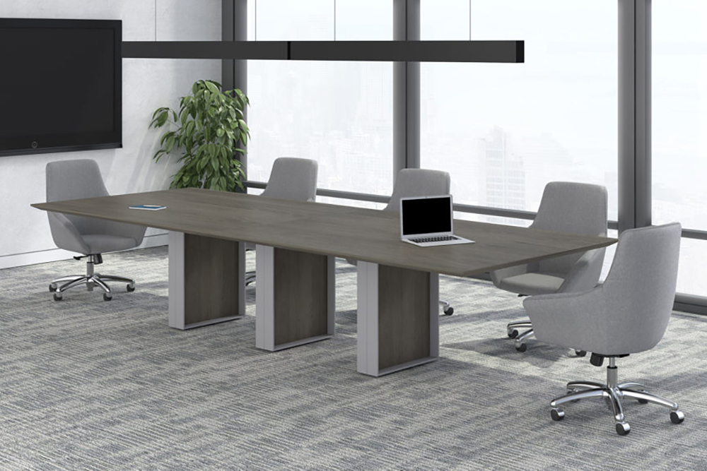 Conference room with club chairs