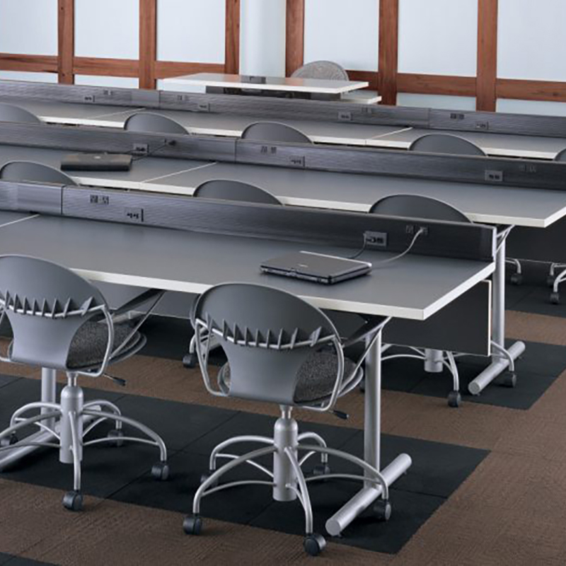 Gray training room