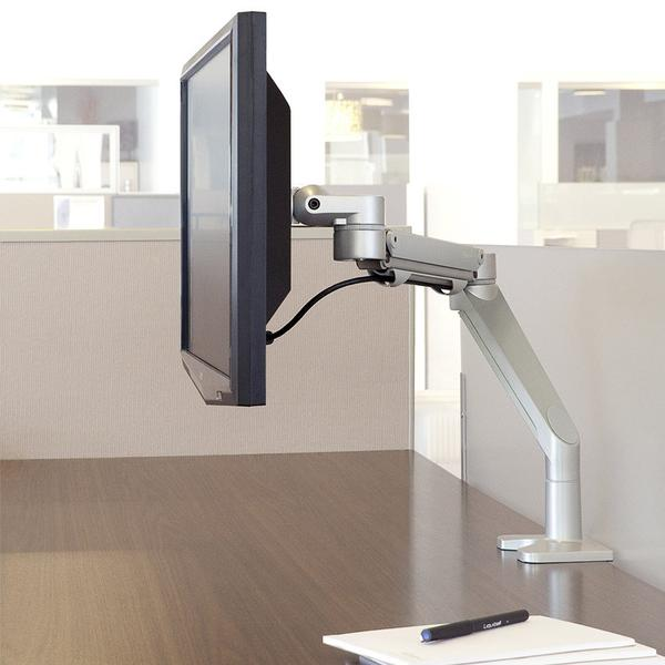 Monitor arm holder