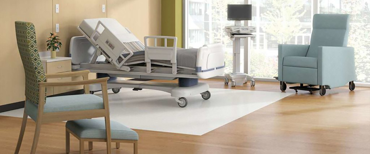 patient room furniture in hospital