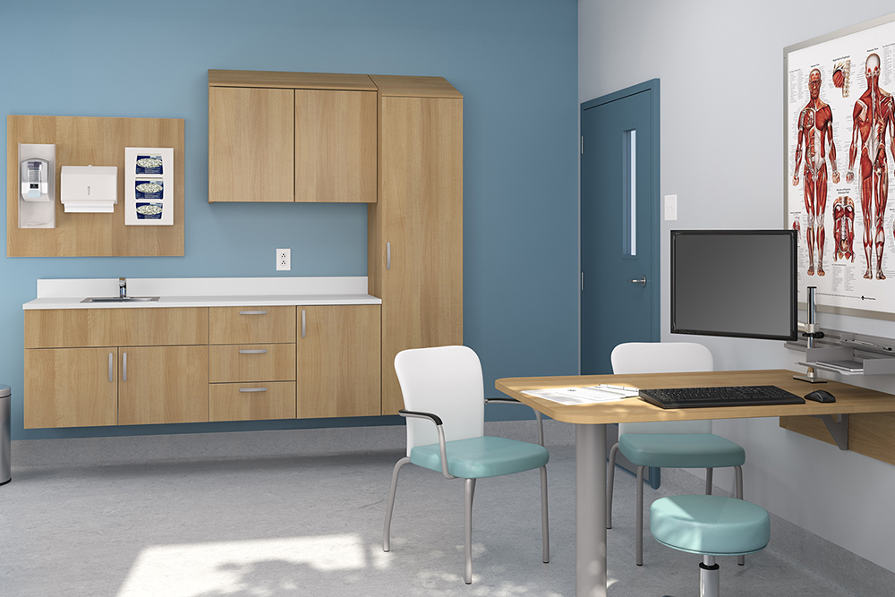 Doctor and patient furniture