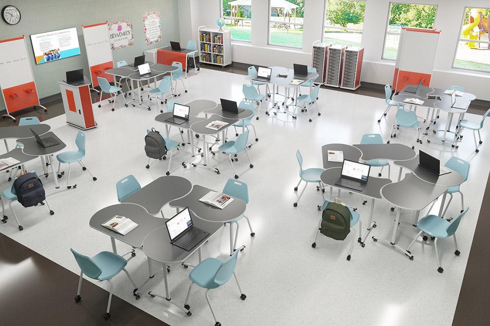 Collabrative classroom furniture