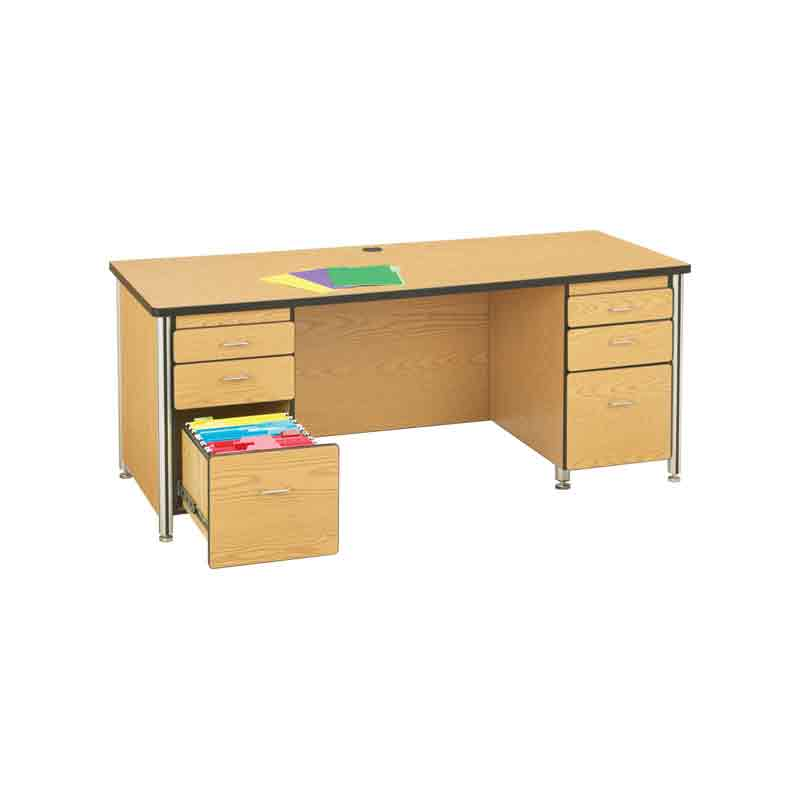 Teachers desk with drawers