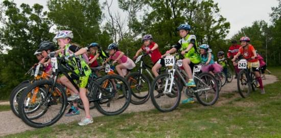 Womens only bike race
