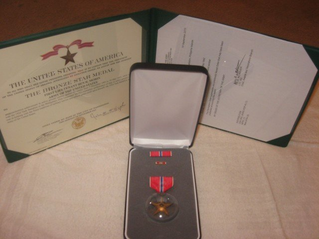 Father Ben Gets His Bronze Star