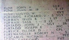 Sgt. Funk listed on Tables of the Missing