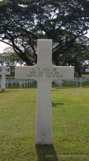 Buried at Manila American Cemetery.