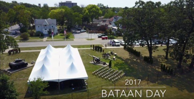 Amazing Video of Bataan Day 2017