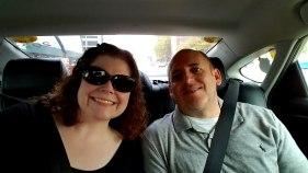 Sharing an Uber with @BizRockstar