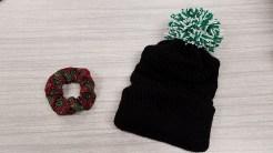 Entrepreneurship prototypes - scrunchie and winter hat