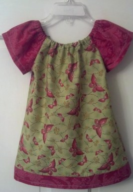 a dress I made